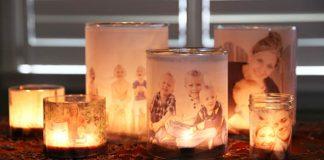 Žiariace rodinné fotografie | Návod na krásnu dekoráciu či darček