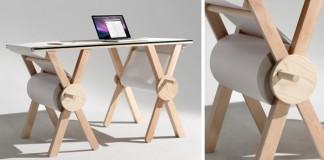 Poznámkovy stôl pre kreatívcov, ktorí majú veľa nápadov