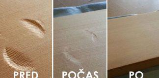 Ako odstrániť preliačiny alebo jamky na devenom nábytku | Užitočné rady