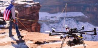 CineChopper tvoria úžasné zábery pomocou dronov