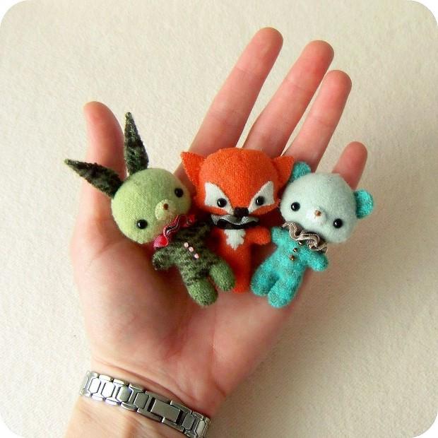 handmade hracky z plsti gingermelon 23