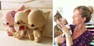 Hračky z filcu od Gingermelon si zamilujete | Handmade hračky z plsti