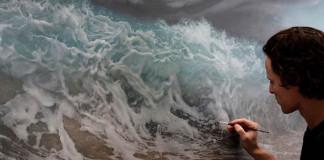 Surreálne maľby od Joel Rea | Umenie