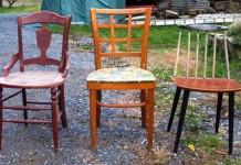 Ako využiť staré stoličky | Lavička zo starých stoličiek | Nápady a návody