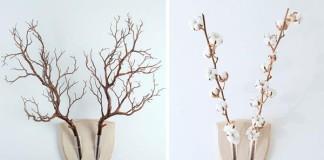 Elkebana | Nástenné trofeje z rastlín, ktoré oživia Vaše steny