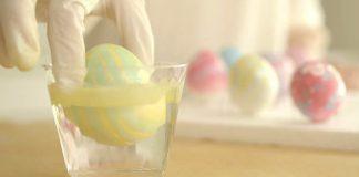 Veľkonočné vajíčka zdobené lakom na nechty | Návod ako postupovať