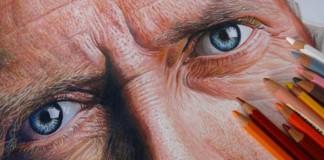 Hyper-realistické portréty celebrít | Néstor Canavarro