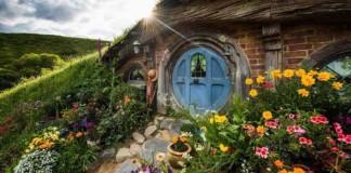 Hobbiton, rozprávkový svet hobitov na Novom Zélande
