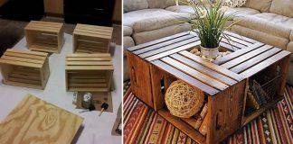 Stolík z debničiek | Návod na konferenčný stolík z drevených debničiek