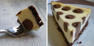 Bodkovaný cheesecake (Polka dot cheesecake) | Recept
