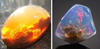 Extrémne krásne minerály a kamene Kreativita prírody