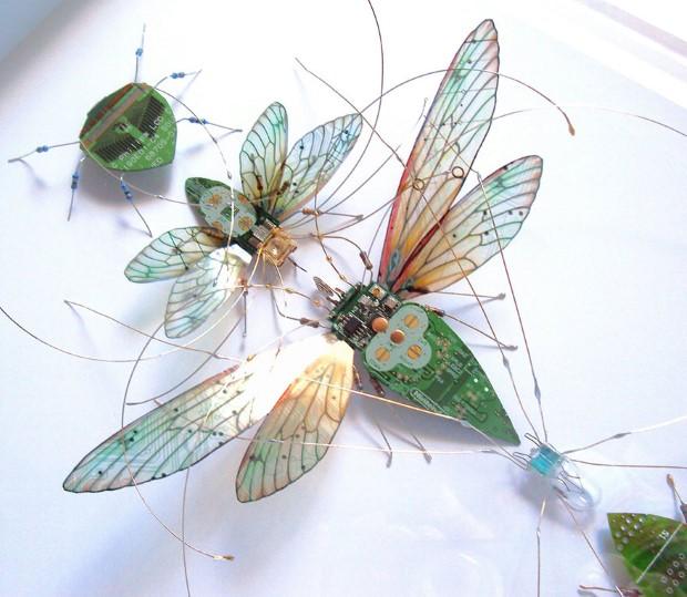 Julie Alice Chappell okridleny hmyz zo suciastok 15