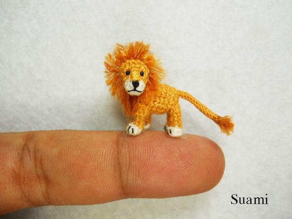 SuAmi handmade hackovane miniaturne zvieratka 1
