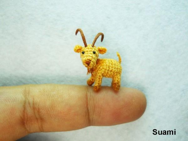 SuAmi handmade hackovane miniaturne zvieratka 10