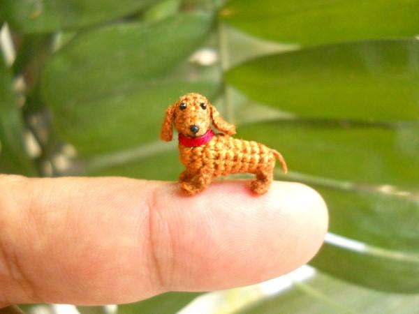 SuAmi handmade hackovane miniaturne zvieratka 11