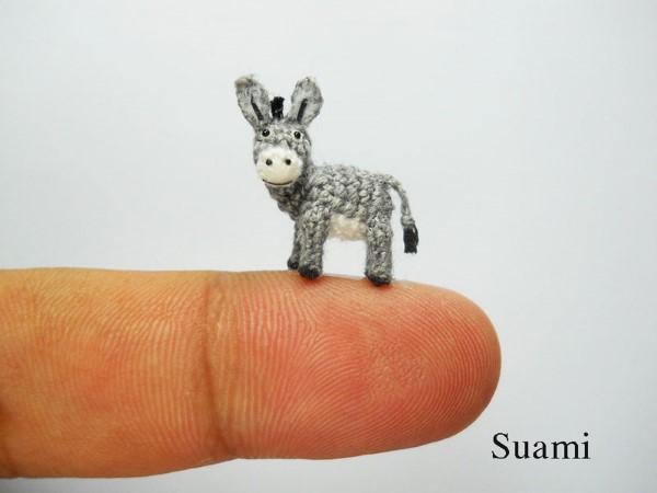 Miniatúrne háčkované zvieratká   Handmade od SuAmi 13