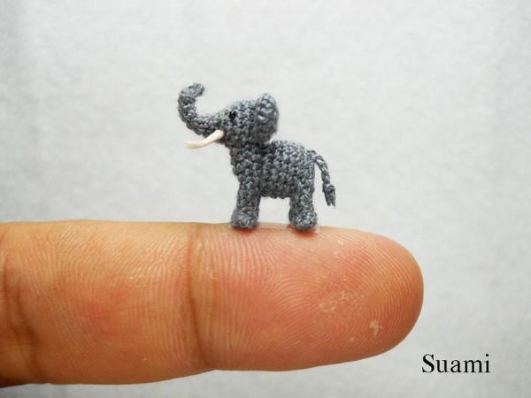 SuAmi handmade hackovane miniaturne zvieratka 2