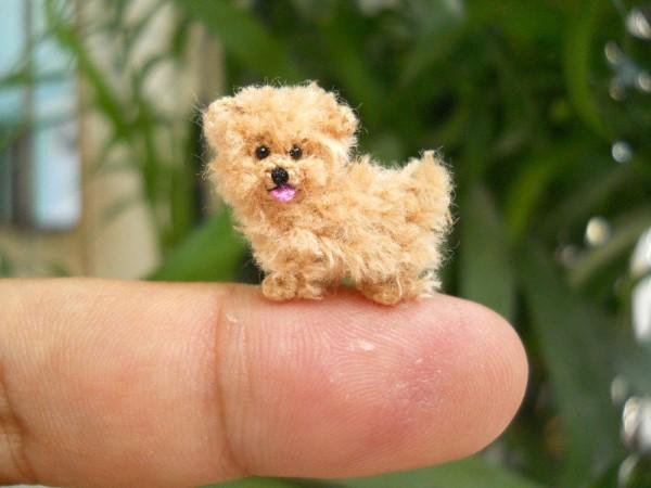 Miniatúrne háčkované zvieratká   Handmade od SuAmi 20