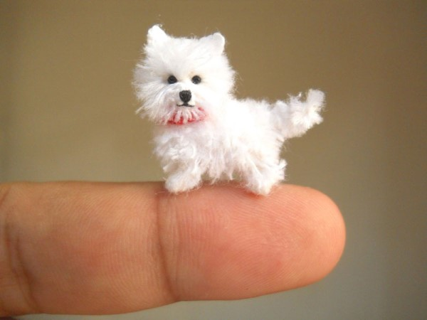 SuAmi handmade hackovane miniaturne zvieratka 3