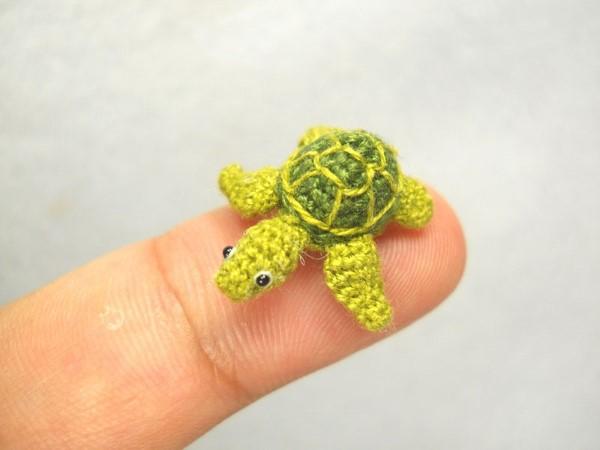 SuAmi handmade hackovane miniaturne zvieratka 6