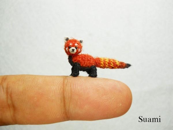 SuAmi handmade hackovane miniaturne zvieratka 7