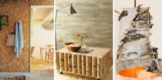 Kreatívne nápady ako využiť brezové drevo v domácnosti
