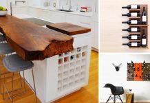 Ako skladovať fľaše vína v interiéri | Kreatívne nápady na úložné riešenia