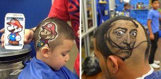 Kreatívny kaderník mení vlasy klientov na hotové umelecké diela!