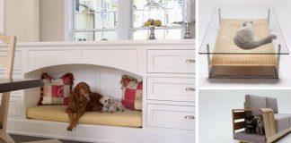 Nábytok pre domáce zvieratká | 20+ kreatívnych nápadov