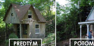 Rozprávkový mini domček v shabby chic štýle v horách neďaleko NY