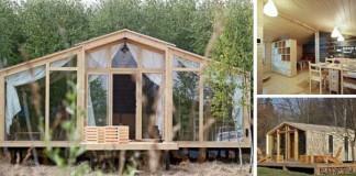 Prefabrikované drevené chatky od DublDom
