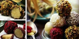 Marcipánové guličky | Vegan RAW recept