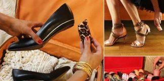 Vymeniteľné podpätky na dámskej obuvi | Tanya Heath