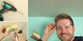 Ako pri vŕtaní nespraviť neporiadok | 2 geniálne triky