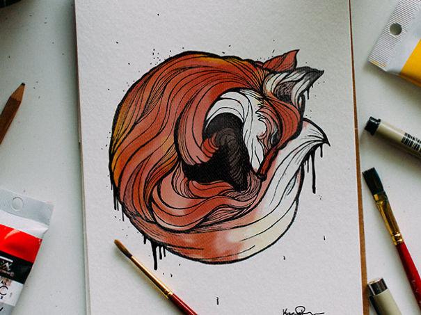 Otec kresli zvierata a uci tak syna abecedu 2