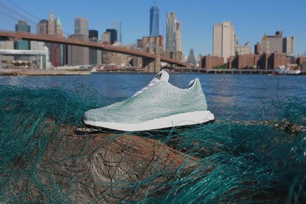 Adidas tenisky z odpadu oceánu a rybárskych sietí pytliakov 1