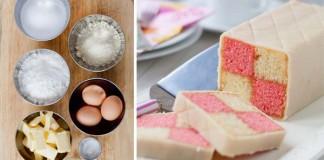 Recept na tradičný koláč Battenberg