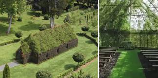 Kostol zo stromov | Barry Cox strávil 4 roky tvorením kostola zo stromov
