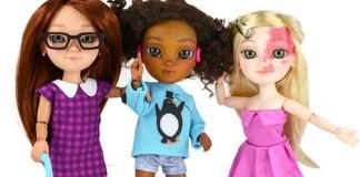 Výrobca hračiek Makies vytvoril bábiky s postihnutím