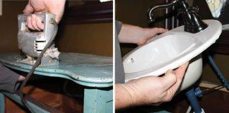 Skrinka pod umývadlo zo starej komody | Kreatívny nápad s návodom