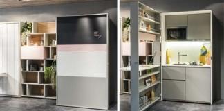 Kuchynská linka Clei pre malé priestory má všetko, čo potrebujete