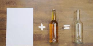 Ako otvoriť fľašu s kúskom papiera | Kreatívny nápad a návod