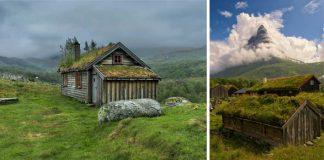 Architektúra z Nórska   16 obrázkov nórskej architektúry ako z rozpávky