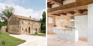 Starú maštaľ v Toskánsku premenili na nádherný kamenný dom