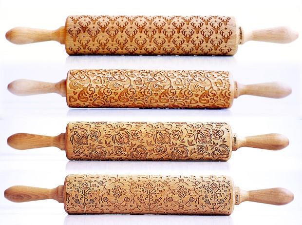 Zuzia Kozerska Valek Rolling Pins Kreatívne valčeky na cesto premenia Vaše koláčiky na chutné umelecké dielka 1