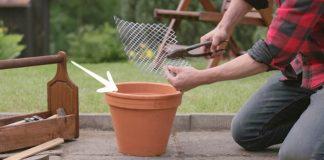 Gril z kvetináča   DIY návod na homemade gril a udiareň z kvetináča