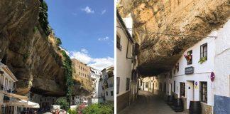 Ľudia v meste Setenil de las Bodegas žijú doslova pod skalou