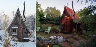 Malé drevené chatky, akoby z rozprávky vystrihnuté | Dan Pauly
