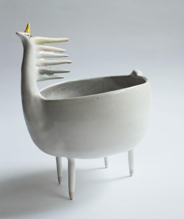 Marta Turowska roztomila zvieracia handmade keramika 13