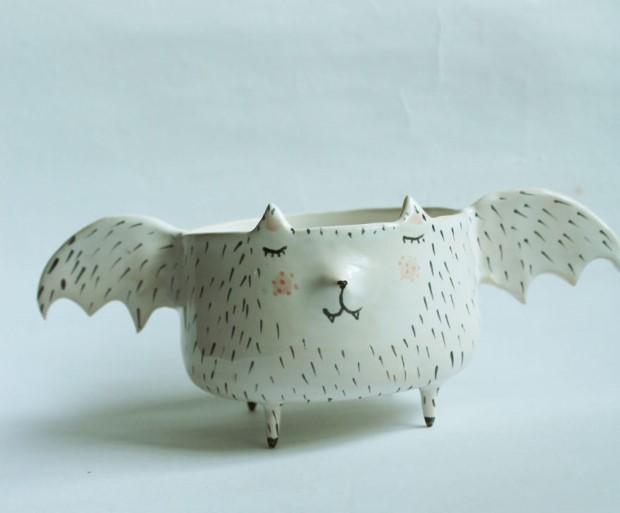 Marta Turowska roztomila zvieracia handmade keramika 5